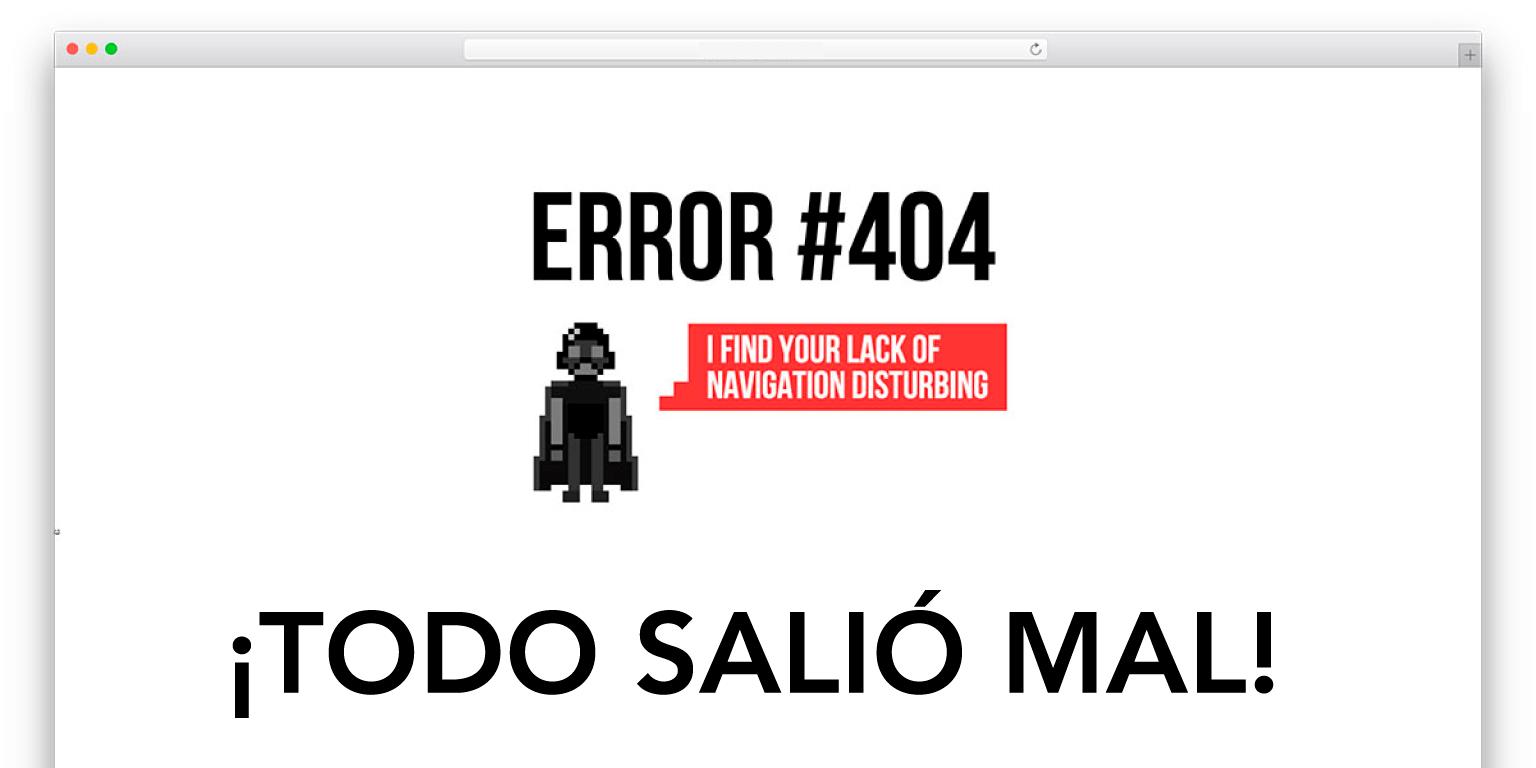 social media error 404